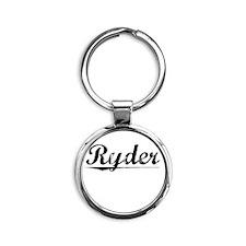 Ryder, Vintage Round Keychain