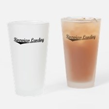 Riverview Landing, Vintage Drinking Glass