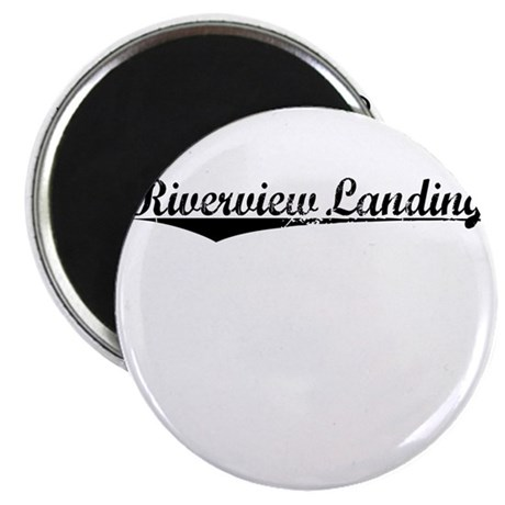 Riverview Landing, Vintage Magnet