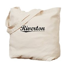 Riverton, Vintage Tote Bag