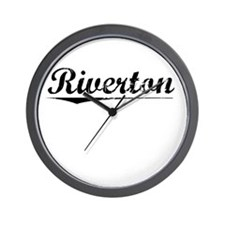 Riverton, Vintage Wall Clock