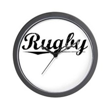 Rugby, Vintage Wall Clock
