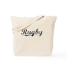 Rugby, Vintage Tote Bag