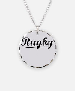 Rugby, Vintage Necklace