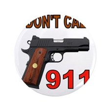 """911 3.5"""" Button (100 pack)"""