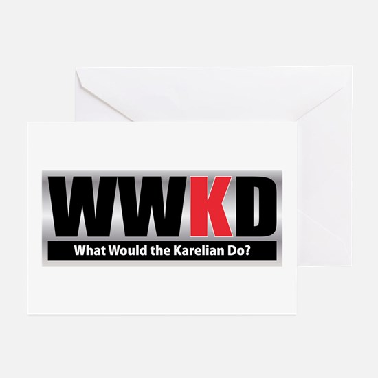 WW the Karelian D Greeting Cards (Pk of 10)