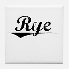 Rye, Vintage Tile Coaster