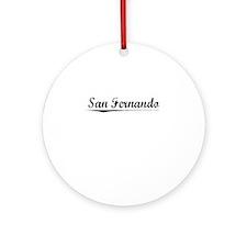 San Fernando, Vintage Round Ornament