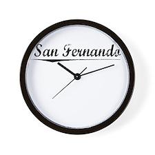 San Fernando, Vintage Wall Clock
