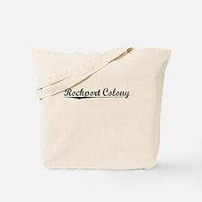 Rockport Colony, Vintage Tote Bag