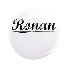 """Ronan, Vintage 3.5"""" Button"""