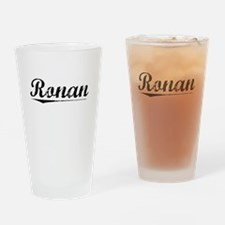 Ronan, Vintage Drinking Glass
