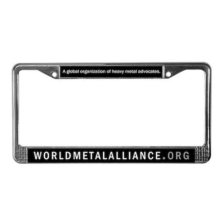 WMA License Plate Frame