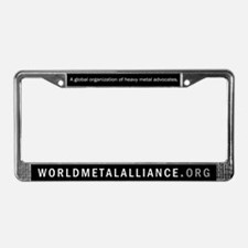 WMA License Plate Frame