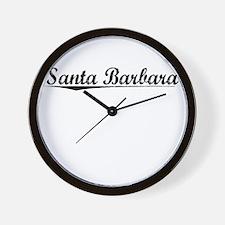 Santa Barbara, Vintage Wall Clock