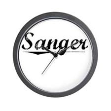 Sanger, Vintage Wall Clock