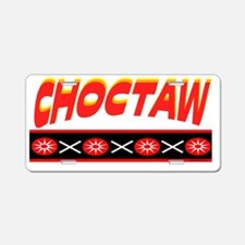 CHOCTAW Aluminum License Plate