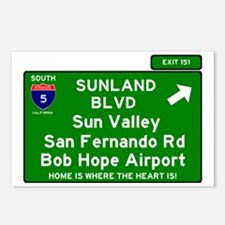 I5 INTERSTATE EXIT SIGN - Postcards (Package of 8)