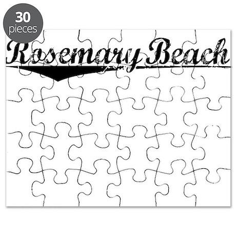 Rosemary Beach, Vintage Puzzle