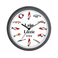 Lake Lizzie Wall Clock