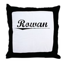 Rowan, Vintage Throw Pillow