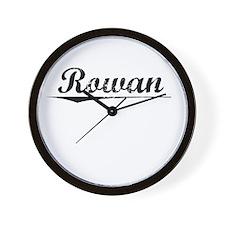 Rowan, Vintage Wall Clock