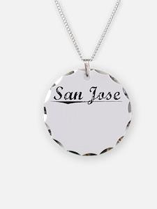 San Jose, Vintage Necklace