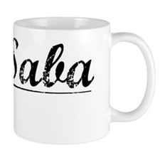 San Saba, Vintage Mug