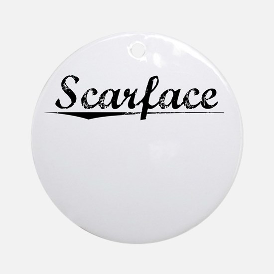Scarface, Vintage Round Ornament