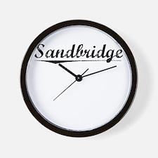 Sandbridge, Vintage Wall Clock