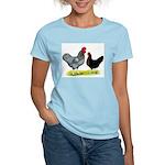 Black Sex-link Chickens Women's Light T-Shirt