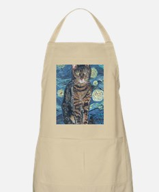 Journal Starry Night Apron