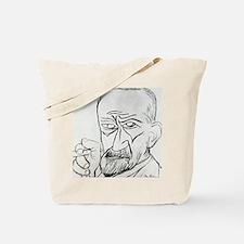 Sigmund Freud, Austrian psychologist Tote Bag