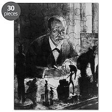 Sigmund Freud, Austrian psychologist Puzzle
