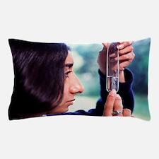 Silver mirror test Pillow Case