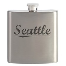 Seattle, Vintage Flask
