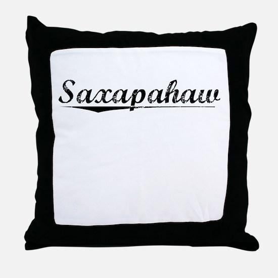 Saxapahaw, Vintage Throw Pillow