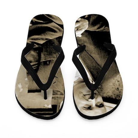 Sergei Korolev, Soviet rocket scientist Flip Flops