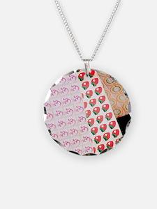 Sheets of LSD (acid) tabs Necklace