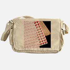 Sheets of LSD (acid) tabs Messenger Bag