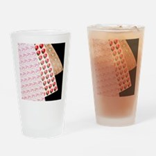Sheets of LSD (acid) tabs Drinking Glass