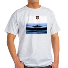 Secondary drop formation, water drop T-Shirt