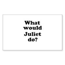 Juliet Rectangle Decal