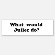 Juliet Bumper Bumper Bumper Sticker