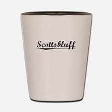 Scottsbluff, Vintage Shot Glass