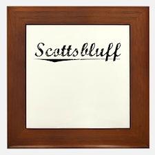 Scottsbluff, Vintage Framed Tile