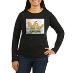 Buff OE Bantams Women's Long Sleeve Dark T-Shirt