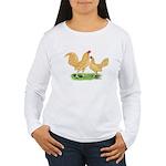 Buff OE Bantams Women's Long Sleeve T-Shirt
