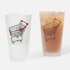 Shopping trolley Drinking Glass