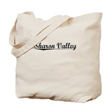 Sharon Valley, Vintage Tote Bag